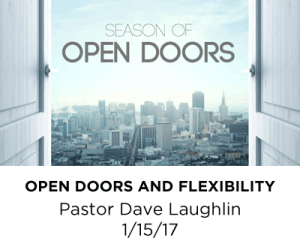 Open Doors and Flexibility