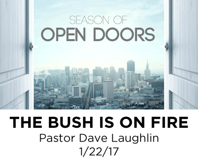 The Bush is on Fire - Pastor Dave Laughlin