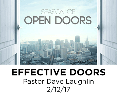 Effective Doors - Pastor Dave Laughlin