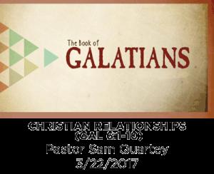 Christian Relationships