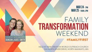 Family Transformation Weekend 2017