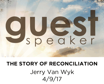 Guest Speaker - Jerry Van Wyk