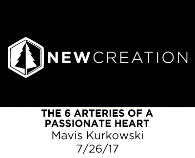 The 6 Arteries of a Passionate Heart - Mavis Kurkowski