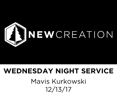 Wednesday Night Service - Mavis Kurkowski