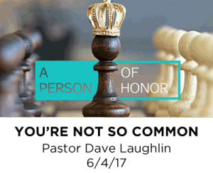 You're Not so Common
