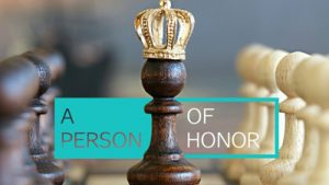 A Person of Honor