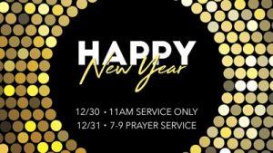 New Year\'s Eve Prayer Service | New Creation World Outreach Church