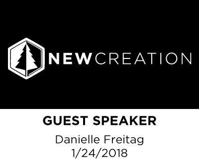 Guest Speaker - Danielle Freitag