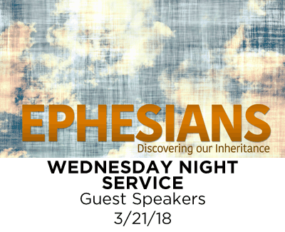 Wednesday Night Service - Guest Speakers