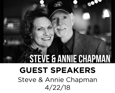 Guest Speakers - Steve and Annie Chapman