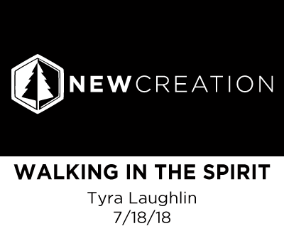Walking in the Spirit - Tyra Laughlin