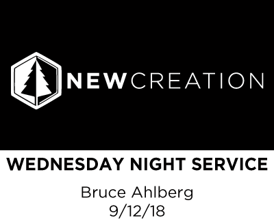 Wednesday Night Service - Bruce Ahlberg