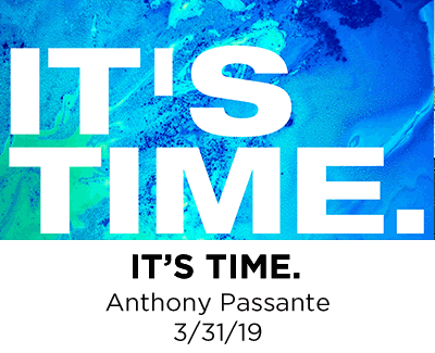 It's Time - Anthony Passante
