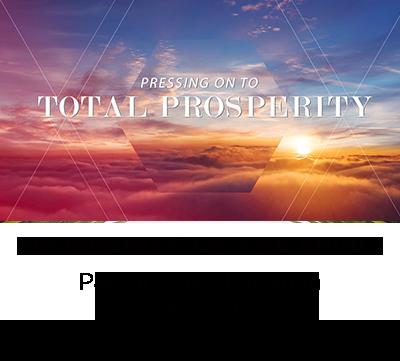 Prosperity of the Spirit - Pastor Dave Laughlin