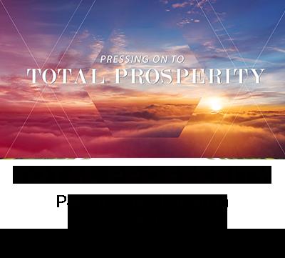 Total Prosperity - Pastor Dave Laughlin