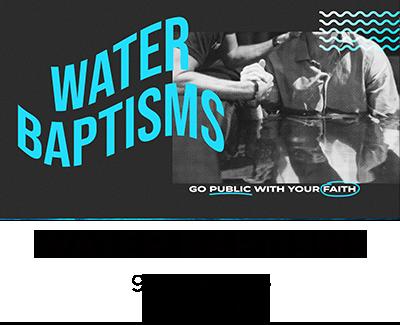 Water Baptism Service- 9am Testimonies